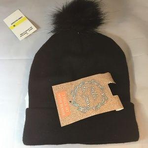 Belle Du Jour Teen Black Autumn / Winter Hat One S